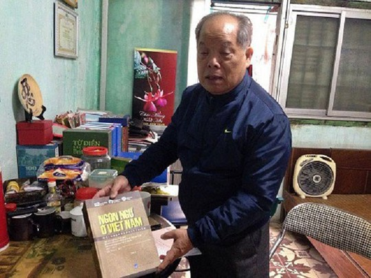 Cấp chứng nhận bản quyền cho cải tiến tiếw Việt của PGS Bùi Hiền - ảnh 1