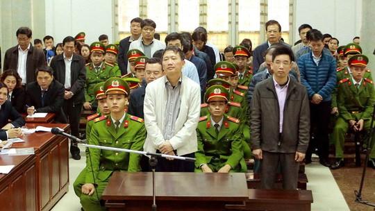 Tòa xử ông Đinh La Thăng: Trịnh Xuân Thanh sốc với bản án - Ảnh 1.