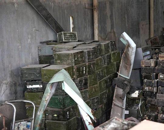 Bắc Ninh: Phát hiện thêm 1 kho hàng lạ nghi là đạn nằm gần vụ nổ - Ảnh 3.