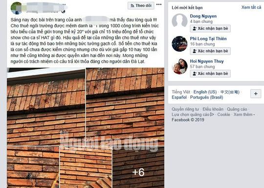 Kiến trúc Trường CĐSP Đà Lạt bị xâm hại: Hiệu trưởng lên tiếng - Ảnh 1.