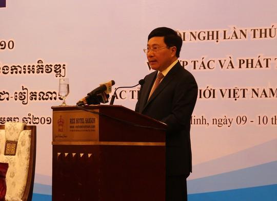 Việt Nam-Campuchia đặc biệt chú trọng hợp tác và phát triển các tỉnh biên giới - Ảnh 2.