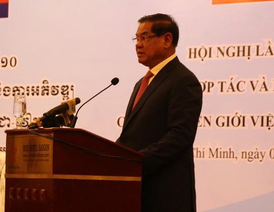 Việt Nam-Campuchia đặc biệt chú trọng hợp tác và phát triển các tỉnh biên giới - Ảnh 3.