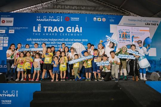U70 cùng tranh tài với các VĐV nhí tại giải Marathon quốc tế TP HCM 2019 Taiwan Excellence - Ảnh 5.