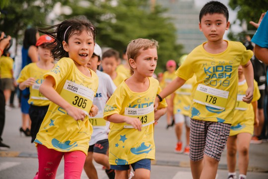 U70 cùng tranh tài với các VĐV nhí tại giải Marathon quốc tế TP HCM 2019 Taiwan Excellence - Ảnh 8.