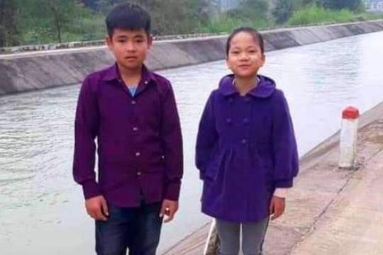 Nam sinh 11 tuổi lao xuống dòng nước xiết cứu bạn nữ rơi xuống kênh - Ảnh 1.