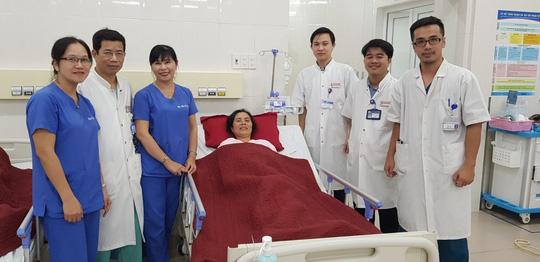 Cứu được bệnh nhân túi phình động mạch não bằng phương pháp phẫu thuật mới - Ảnh 2.