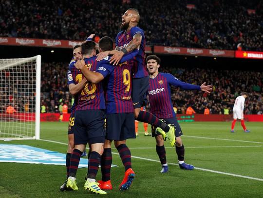 Vùi dập Sevilla, Barcelona gửi cảnh báo ở Cúp Nhà vua - Ảnh 6.