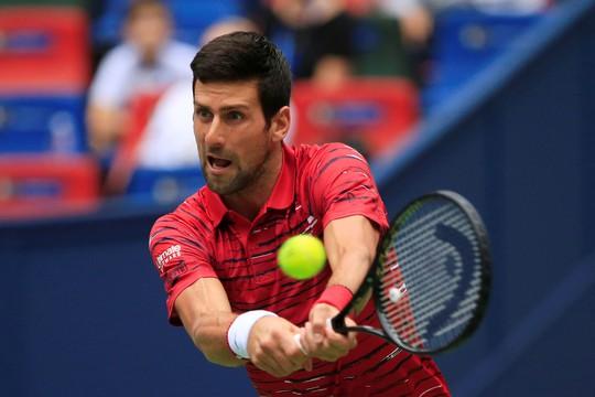 Djokovic và Federer cùng thua sốc ở Thượng Hải Masters 2019 - Ảnh 3.