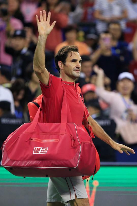 Djokovic và Federer cùng thua sốc ở Thượng Hải Masters 2019 - Ảnh 5.