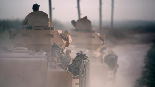 Thổ Nhĩ Kỳ pháo kích như mưa vào Syria - Ảnh 1.