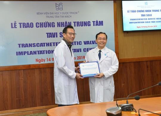BV Đại học Y Dược TP HCM nhận chứng nhận thay van động mạch qua da - Ảnh 2.
