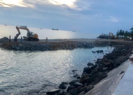 Chủ dự án lấn biển làm thủy cung không báo cáo tiến độ theo yêu cầu - Ảnh 1.