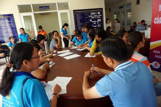 CNVC-LĐ quận 2, TP HCM tham gia hiến máu tình nguyện  - Ảnh 2.