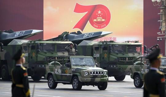 Trung Quốc đe dọa thế thống trị quân sự của Mỹ - Ảnh 1.