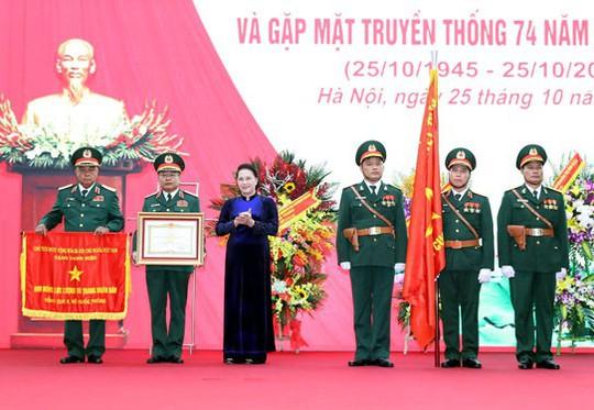 Tổng cục II nhận danh hiệu Anh hùng - Ảnh 1.