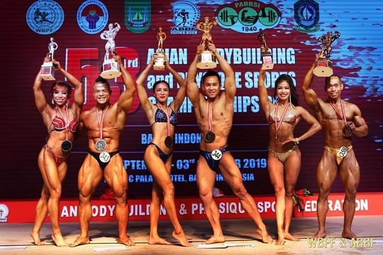 Thể hình Việt Nam thắng lớn tại giải vô địch châu Á - Ảnh 2.