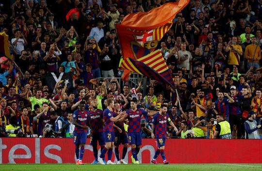 Luis Suarez lập siêu phẩm, Barcelona quật ngã Inter Milan ở Nou Camp - Ảnh 9.