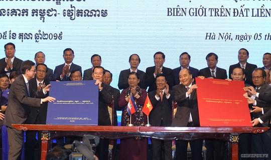 Việt Nam và Campuchia đã phân giới cắm mốc 1.045/1.245 km đường biên giữa hai bên - Ảnh 5.