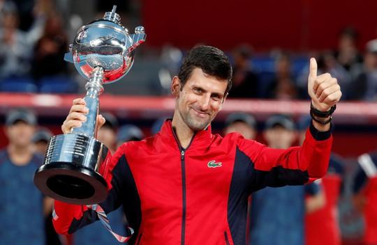 Djokovic, Federer cạnh tranh ngôi vương Shanghai Masters 2019 - Ảnh 1.