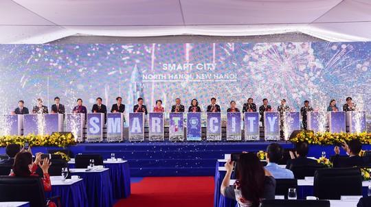 Thủ tướng dự lễ động thổ dự án thành phố thông minh gần 4,2 tỉ USD - Ảnh 1.
