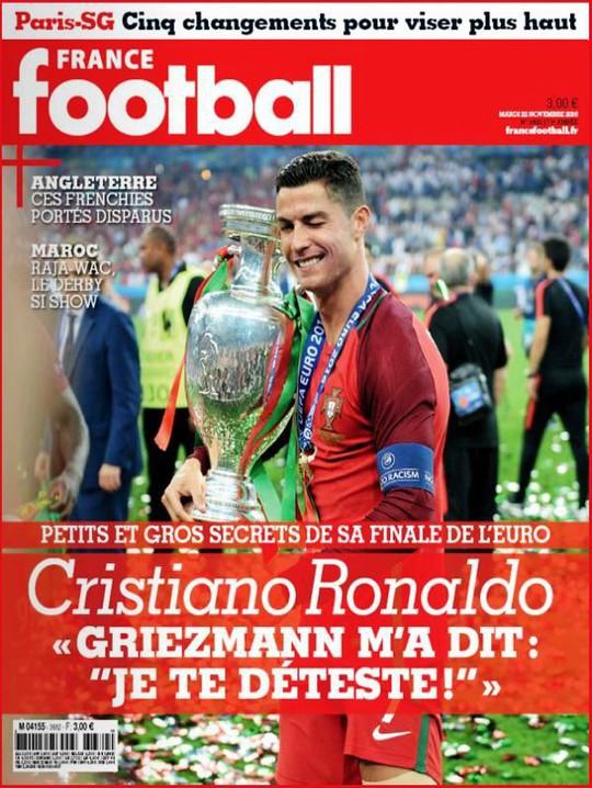 Ronaldo được truyền thông Ý trao sớm Quả bóng vàng 2019 - Ảnh 2.