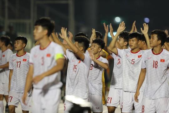 U19 Việt Nam xuất sắc cầm hòa Nhật Bản, hy vọng lấy vé vào VCK U19 châu Á 2020 - Ảnh 5.