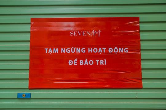 Cận cảnh cửa đóng then cài của chuỗi cửa hàng Seven.Am sau nghi vấn cắt mác Trung Quốc - Ảnh 12.
