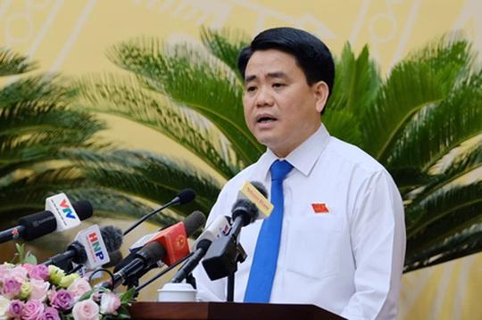Ông Nguyễn Đức Chung nói lý do chọn doanh nghiệp của bà Đỗ Thị Kim Liên đầu tư nhà máy nước sông Đuống - Ảnh 1.