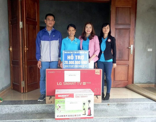 Ninh Bình: Hỗ trợ công nhân nghèo an cư - Ảnh 1.