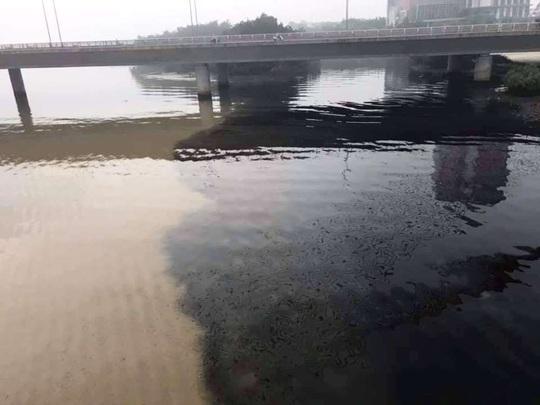 Đà Nẵng lên tiếng vụ nước thải đen ngòm đầu độc sông Hàn - Ảnh 1.