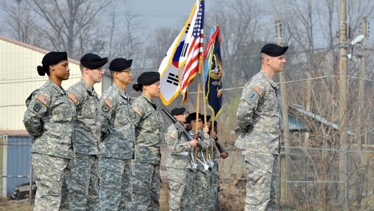 Mỹ cân nhắc rút quân đội khỏi Hàn Quốc - Ảnh 1.