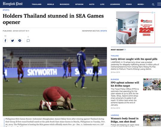 Người Thái khó nuốt trôi thất bại trước U22 Indonesia - Ảnh 4.