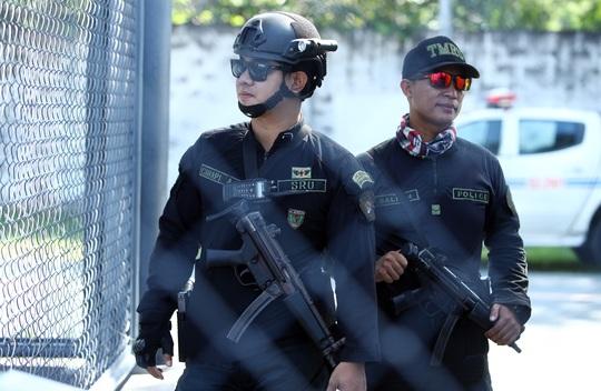 U22 Việt Nam nín thở luyện công trong vòng vây an ninh Philippines - Ảnh 2.
