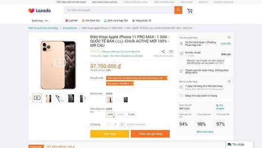iPhone 11 giảm giá 10 triệu đồng ở VN là trò bịp Black Friday - Ảnh 1.