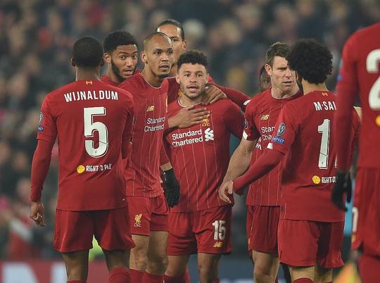 Thần tài tỏa sáng, Liverpool lên ngôi đầu bảng Champions League - Ảnh 6.