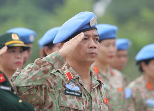 Báo công dâng Bác của Bệnh viện dã chiến trước khi lên đường gìn giữ hòa bình LHQ - Ảnh 9.