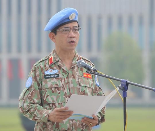Báo công dâng Bác của Bệnh viện dã chiến trước khi lên đường gìn giữ hòa bình LHQ - Ảnh 12.