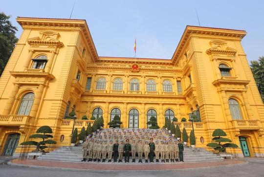 Báo công dâng Bác của Bệnh viện dã chiến trước khi lên đường gìn giữ hòa bình LHQ - Ảnh 21.