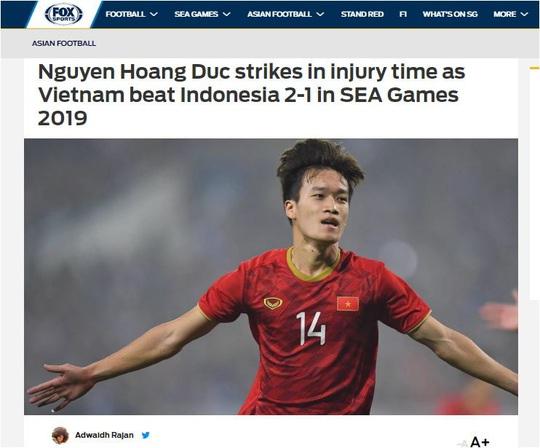Báo châu Á ca ngợi chiến thắng của U22 Việt Nam - Ảnh 2.