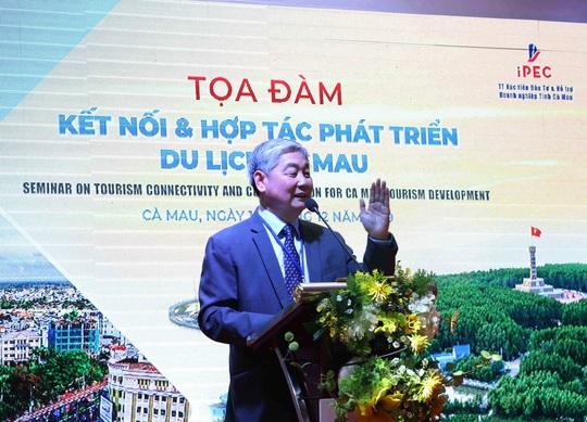 Diễn giả Thái Lan hiến kế phát triển du lịch Cà Mau từ 2 đặc sản nổi tiếng - Ảnh 2.