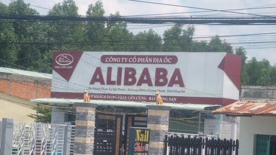 UBND huyện Long Thành - Đồng Nai dính sai phạm của Alibaba? - Ảnh 1.