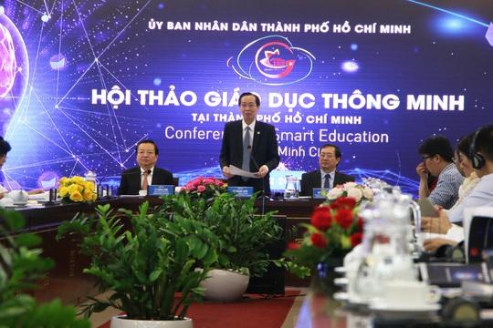 TP HCM hướng tới phát triển giáo dục thông minh - Ảnh 1.
