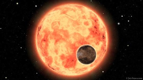 Siêu trái đất nóng hơn 1.800 độ xuất hiện cạnh bản sao mặt trời - Ảnh 1.