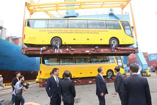 THACO xuất lô hàng xe bus thương hiệu Việt đầu tiên sang Philippines - Ảnh 5.