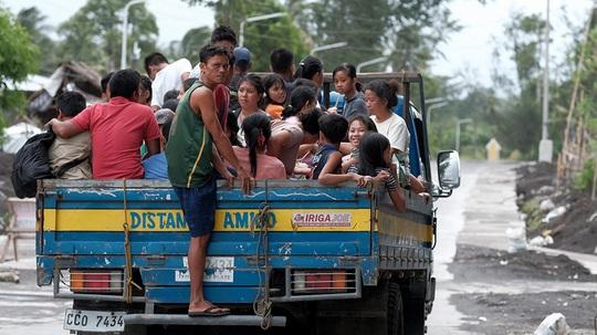 Bão đổ bộ Philippines, đã có môn đấu tại SEA Games 30 bị hoãn - Ảnh 1.