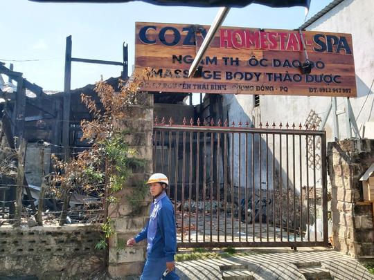 Bộ Công an vào cuộc vụ 2 nữ du khách nước ngoài chết cháy ở Phú Quốc - Ảnh 1.