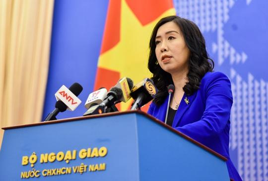 Người phát ngôn lên tiếng về thông tin khinh khí cầu Trung Quốc do thám ở đá Vành Khăn - Ảnh 1.