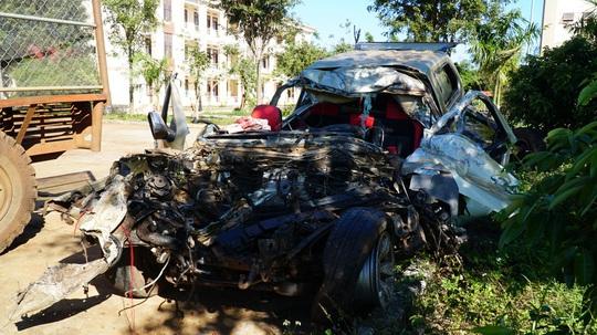 Vụ tai nạn thảm khốc ở Gia Lai: 4 người trên xe bán tải say xỉn, chạy lấn đường - Ảnh 2.