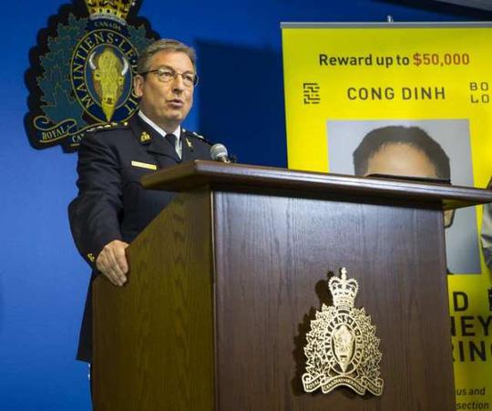 Canada treo thưởng gần 900 triệu đồng bắt nghi phạm rửa tiền gốc Việt  - Ảnh 2.