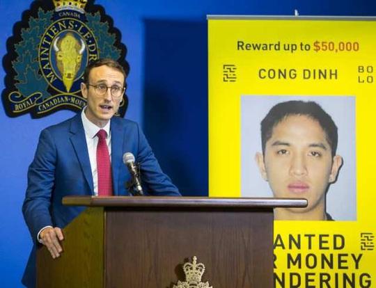 Canada treo thưởng gần 900 triệu đồng bắt nghi phạm rửa tiền gốc Việt  - Ảnh 3.